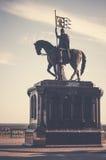 El monumento de príncipe Vladimir Fotografía de archivo libre de regalías