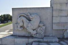 El monumento de Shipka Imagen de archivo