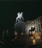 El monumento de Yuri Dolgoruky Imagen de archivo libre de regalías