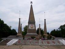 El monumento del 2do guarda al ejército en Sevastopol Fotografía de archivo libre de regalías