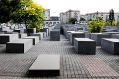El monumento del holocausto en Berlín Imágenes de archivo libres de regalías