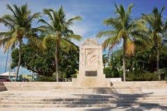 El monumento del huracán Fotos de archivo libres de regalías