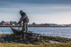 El monumento del pescador perdido Fotografía de archivo libre de regalías