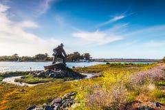 El monumento del pescador perdido Imagen de archivo