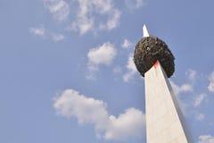 El monumento del renacimiento Imagenes de archivo
