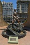 El monumento del soldado en Buenos Aires Fotografía de archivo