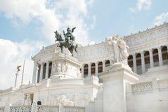 El monumento del vencedor Emmanue Foto de archivo libre de regalías