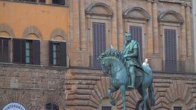 El monumento ecuestre de Cosimo metrajes