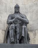 El monumento en el cuadrado de la iglesia, vladimir, Federación Rusa Imagen de archivo