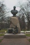 El monumento en el parque Imagen de archivo libre de regalías