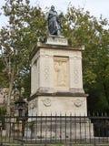 El monumento en París cementary Imagen de archivo