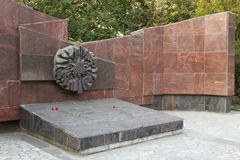 El monumento es una división de infantería del sepulcro total 45 imágenes de archivo libres de regalías