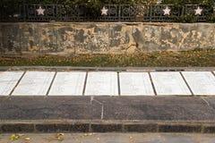 El monumento es una división de infantería del sepulcro total 45 foto de archivo