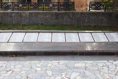 El monumento es una división de infantería del sepulcro total 45 imagen de archivo libre de regalías