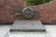 El monumento es una infantería del sepulcro total 45 foto de archivo libre de regalías