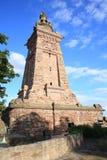El monumento histórico de Kyffhaeuser en Thueringen, Alemania Imagen de archivo