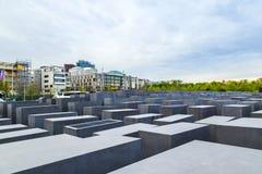 El monumento judío en Berlín central, Alemania Imagen de archivo