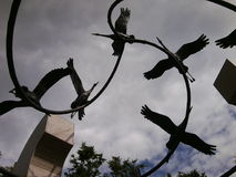 El monumento a las víctimas Fotografía de archivo libre de regalías