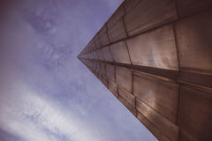 El monumento a los conquistadores del espacio. CENTRO DE EXPOSICIÓN TOTALMENTE RUSO. Moscú. Fotografía de archivo libre de regalías