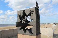 El monumento a los convoyes del norte imagen de archivo libre de regalías