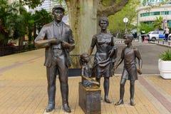 El monumento a los héroes de la comedia Imagen de archivo libre de regalías