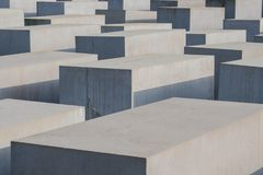 El monumento a los judíos asesinados de Europa también conocidos como Ho Fotografía de archivo libre de regalías