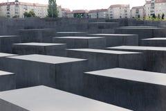 El monumento del holocausto en Berlín Fotos de archivo libres de regalías