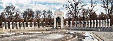 El monumento nacional de la Segunda Guerra Mundial Imagen de archivo libre de regalías