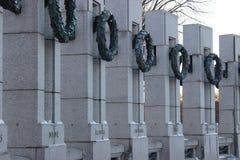 El monumento nacional de la Segunda Guerra Mundial Foto de archivo