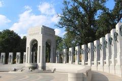 El monumento nacional de la Segunda Guerra Mundial Imagenes de archivo