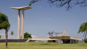 El monumento nacional de la Segunda Guerra Mundial en Río Fotografía de archivo