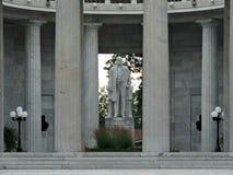 El monumento nacional del lugar de nacimiento de McKinley en Niles Ohio Imagen de archivo libre de regalías