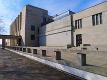 Monumento nacional en la colina de Vitkov imagen de archivo libre de regalías