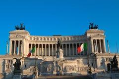 El monumento nacional a Victor Emmanuel II, Roma, Italia Fotografía de archivo