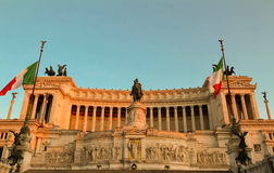 El monumento nacional a Victor Emmanuel II, Roma, Italia Imagen de archivo libre de regalías