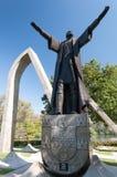 El monumento Pedro Alvares Cabral en São Paulo Brazil. fotos de archivo libres de regalías