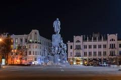 El monumento a Shevchenko Foto de archivo libre de regalías