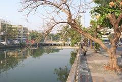 El moring temprano en Nakhon Pathom fotos de archivo libres de regalías