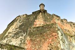 El Morro城堡, San Juan,波多里哥 图库摄影