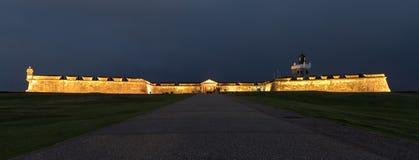 El Morro城堡, San Juan,波多里哥 免版税图库摄影