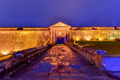 El Morro城堡, San Juan,波多里哥 库存图片