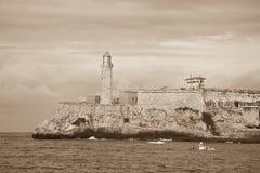 El Morro,哈瓦那 库存照片