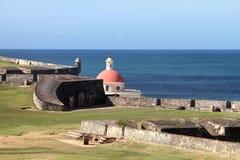 El Morro - östlig sikt Royaltyfri Bild