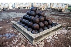EL-Morro, bastión en San Juan Fotos de archivo