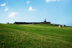 El-Morro bastion i San Juan Royaltyfria Bilder