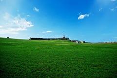 El-Morro bastion i San Juan Arkivfoto
