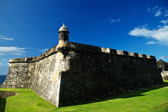El Morro-Bastion in San Juan Royalty Free Stock Photos