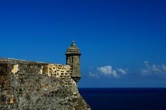 EL-Morro, bastione a San Juan Fotografie Stock Libere da Diritti
