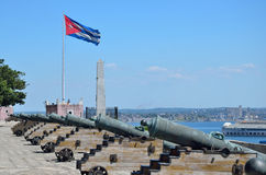 El morro cabana forts in Havana. Royalty Free Stock Photos
