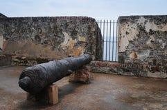 EL Morro Canon - Puerto Rico Fotografía de archivo libre de regalías